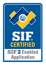 SIF Certified SIF 2 Enabled Application logo